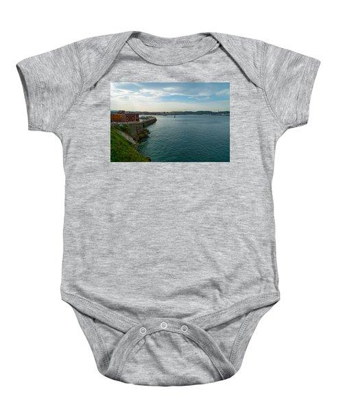 Coastline Of The Bay Baby Onesie