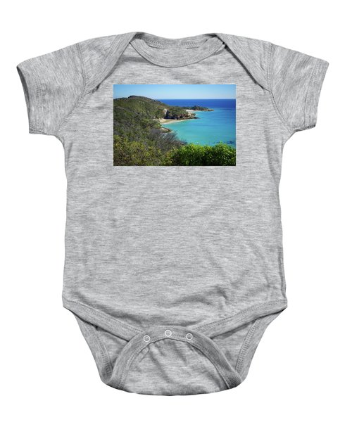 Coastline Views On Moreton Island Baby Onesie