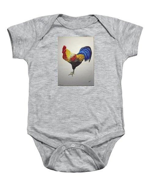 Cock Of The Walk Baby Onesie
