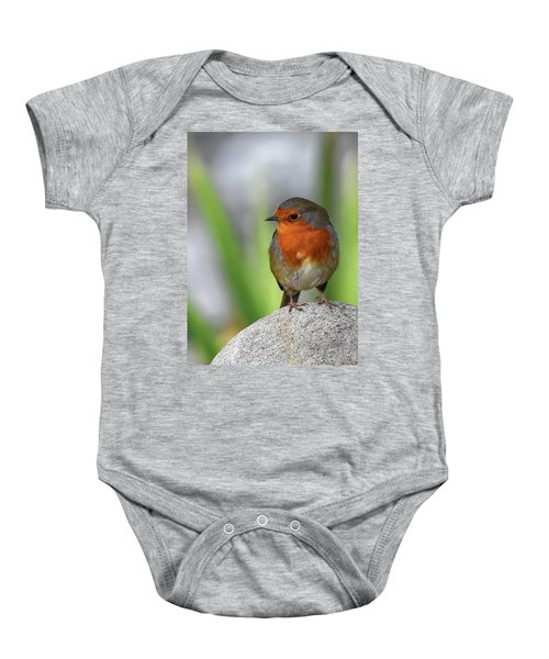 Cocky Robin Baby Onesie