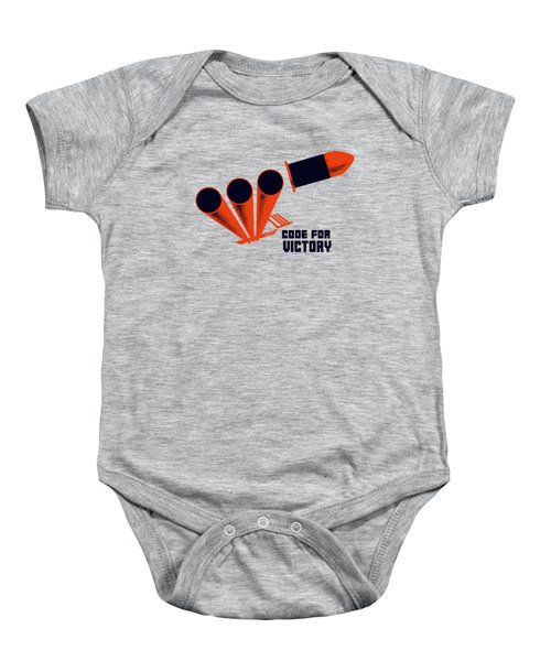 Code For Victory - Ww2 Baby Onesie