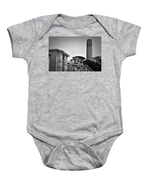 Coit Tower Baby Onesie