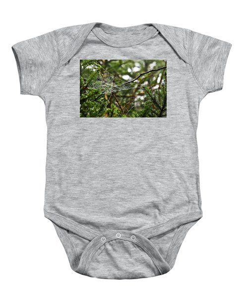 Collecting Raindrops Baby Onesie
