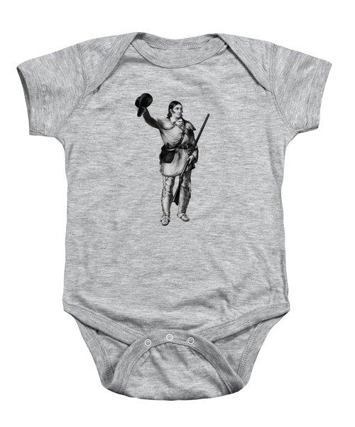Colonel Davy Crockett Baby Onesie