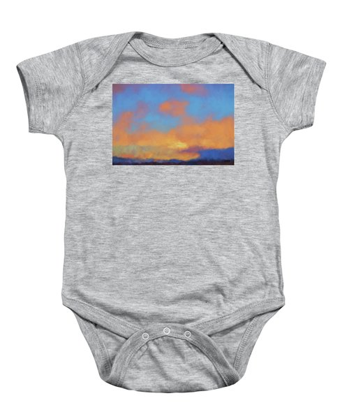 Color Abstraction Lvii Baby Onesie