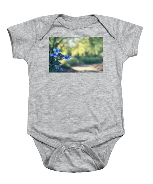 Color Me Blue Baby Onesie