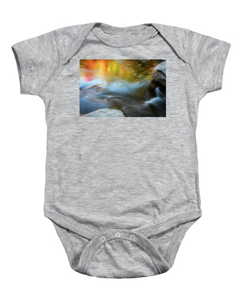 Color On The Swift River Nh Baby Onesie