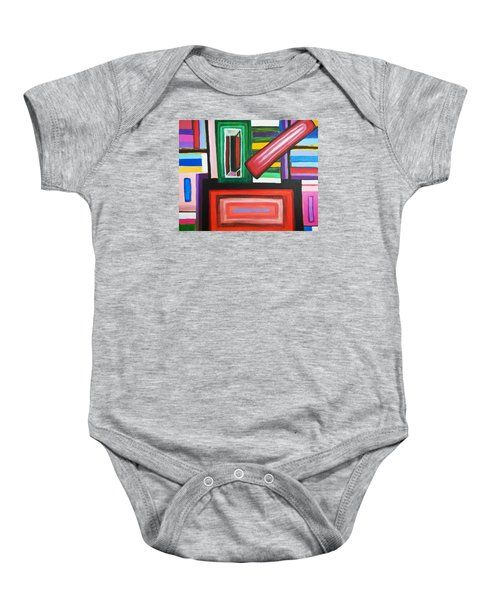 Color Squares Baby Onesie
