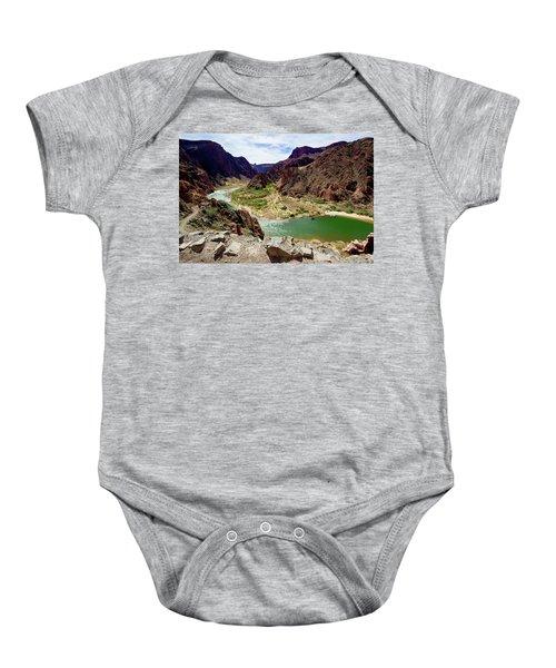 Colorado River Around Boat Beach Baby Onesie