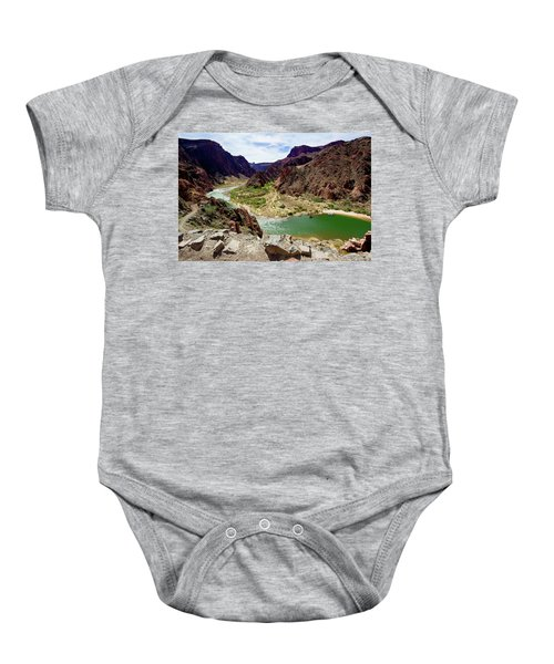 Colorado River Around Boat Beach Baby Onesie