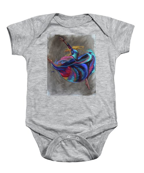 Colorful Dancer Baby Onesie