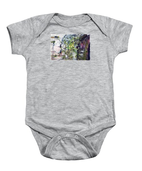 Colorful Foliage Baby Onesie