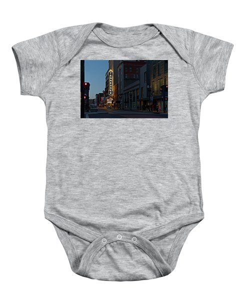 Colorful Night On Gay Street Baby Onesie
