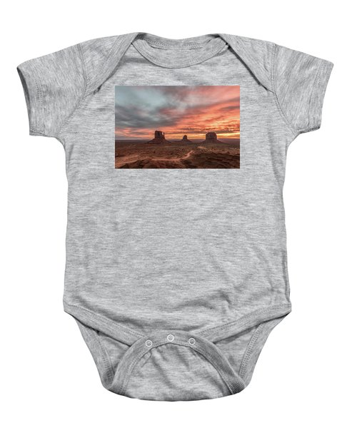 Colors Of The Past Baby Onesie