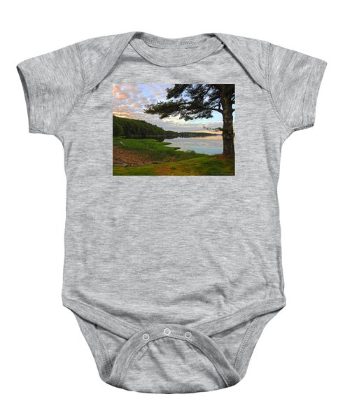 Colors Of The River Baby Onesie