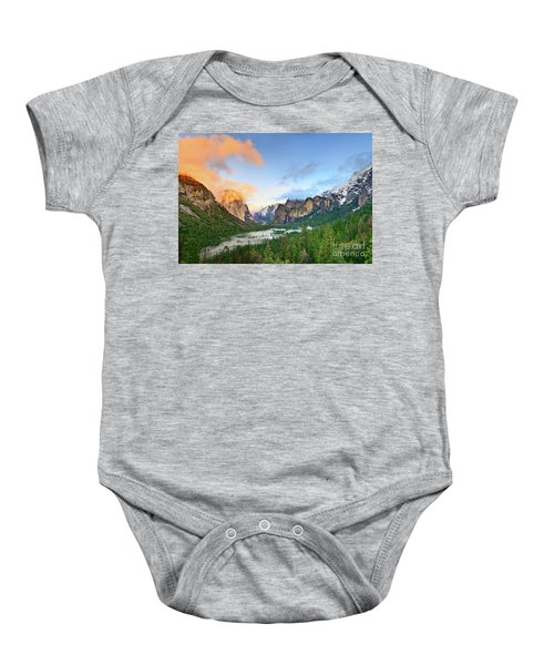 Colors Of Yosemite Baby Onesie