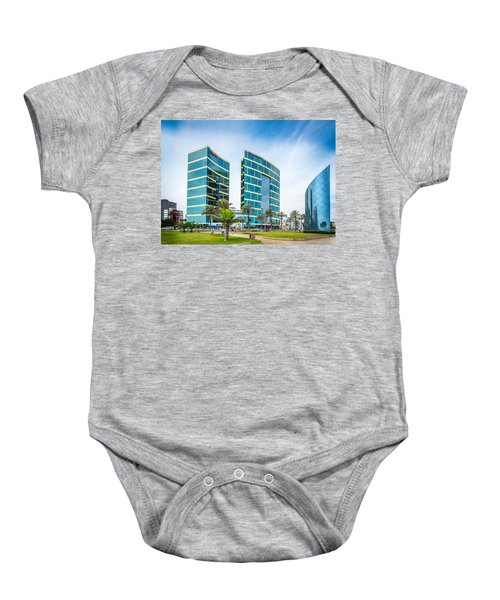 Colour Buildings Lima. Baby Onesie