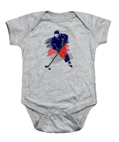 Colubus Blue Jackets Player Shirt Baby Onesie
