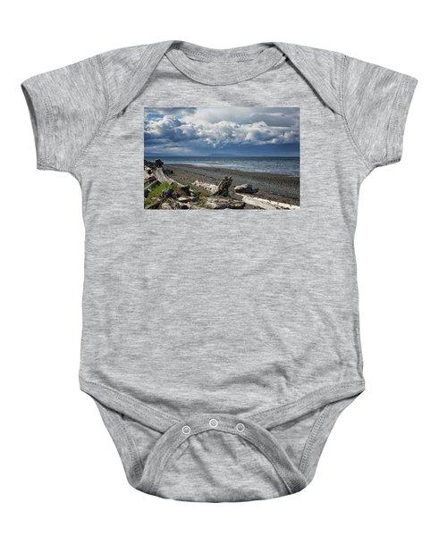 Columbia Beach Baby Onesie