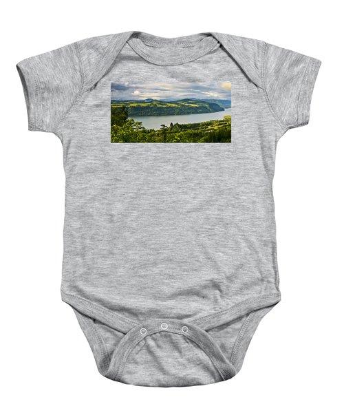 Columbia Gorge Scenic Area Baby Onesie