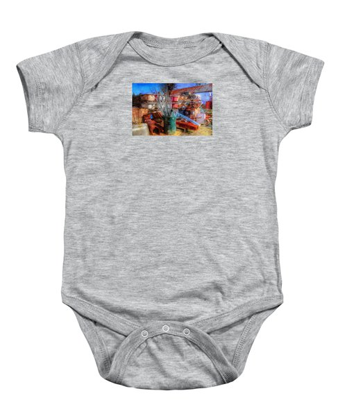 Conduit And Clawfoot Tubs Baby Onesie