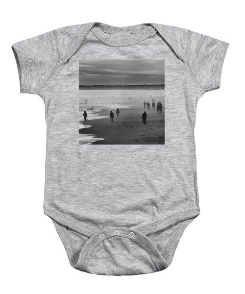 Coney Island Walkers Baby Onesie