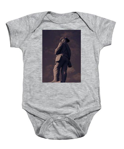 Confederate Statue Baby Onesie