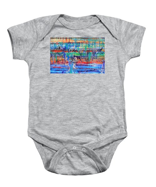 Convection Diffusion Baby Onesie