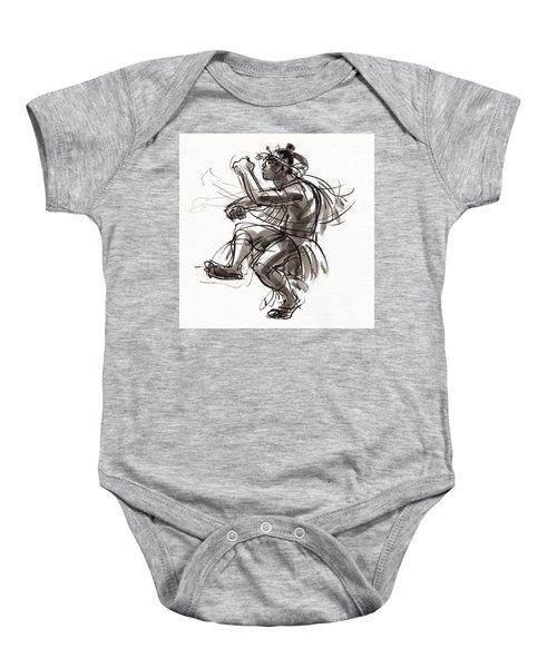 Cook Islands Male Dancer Baby Onesie