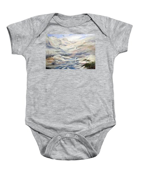 Coorong, South Australia. Baby Onesie