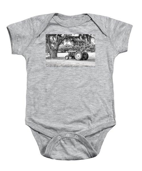 Coosaw - John Deere Parked Baby Onesie
