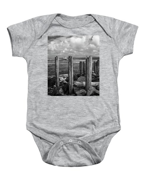 Coquille Lighthouse Baby Onesie