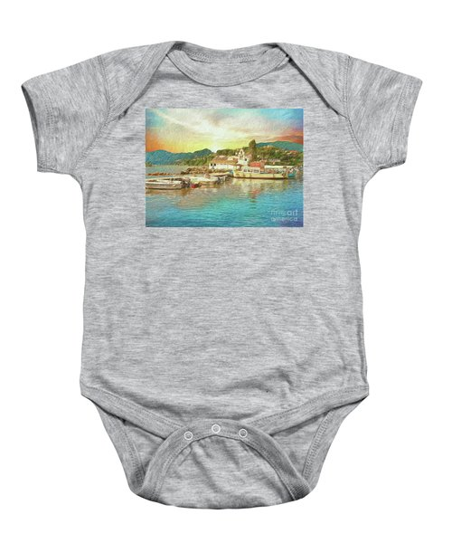 Corfu 30 My Passion Paintography Baby Onesie