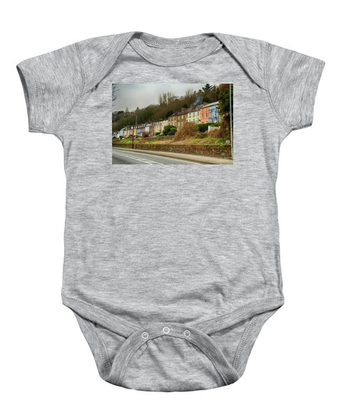 Cork Row Houses Baby Onesie