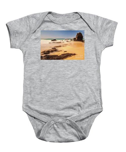 Corunna Point Beach Baby Onesie
