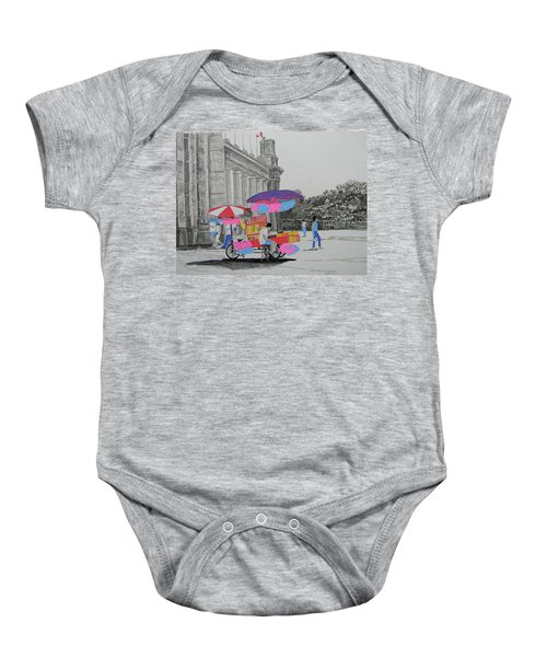 Cotton Candy At The Cne Baby Onesie