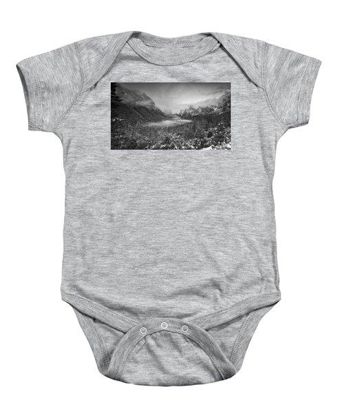 Cotton Candy Blankets Yosemite Baby Onesie