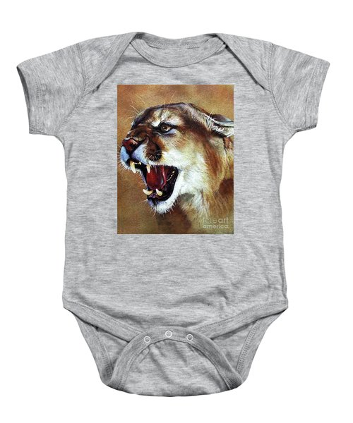 Cougar Baby Onesie