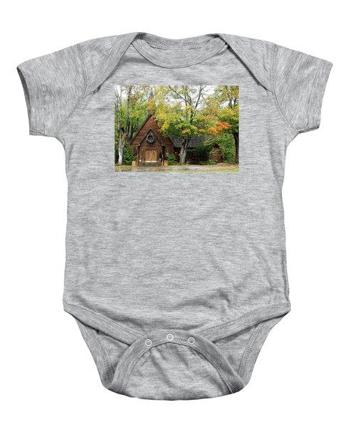 Country Chapel Baby Onesie