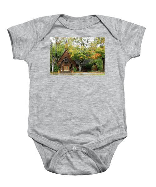Country Chapel Baby Onesie