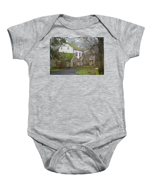 Country House Baby Onesie