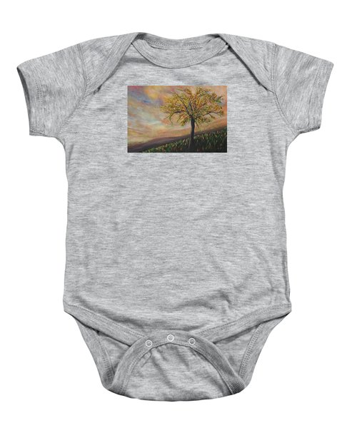 Country Morn Baby Onesie