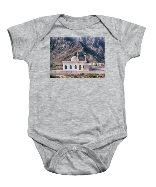 Country Mosque Baby Onesie