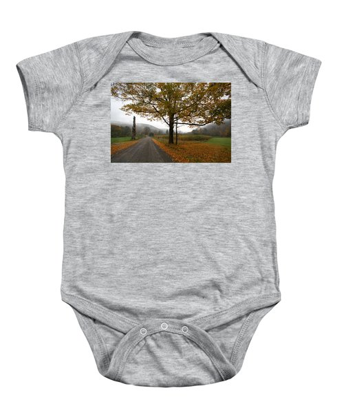 Country Road Baby Onesie