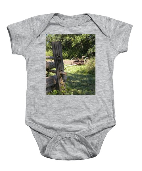 Country Work Baby Onesie