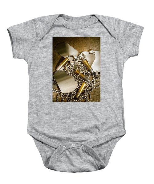Courage And Bravery Baby Onesie