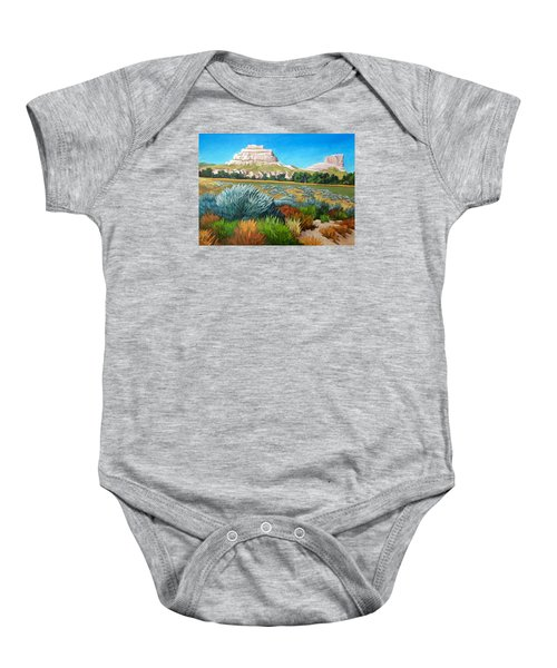 Courthouse And Jail Rocks 2 Baby Onesie
