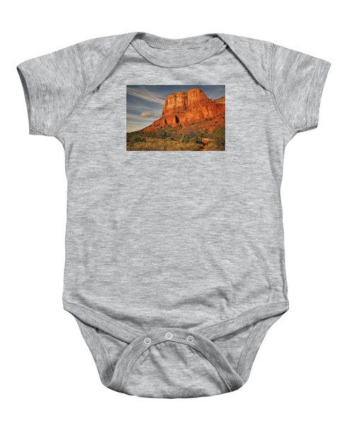 Courthouse Butte Txt Baby Onesie