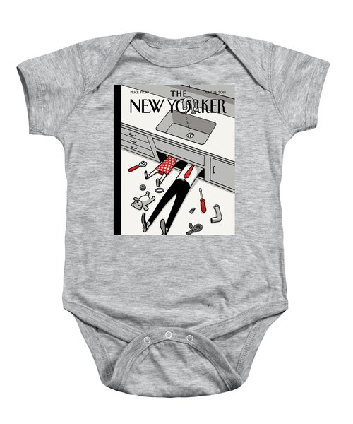 Fathers Day Off Baby Onesie