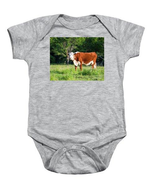 Cow #1 Baby Onesie